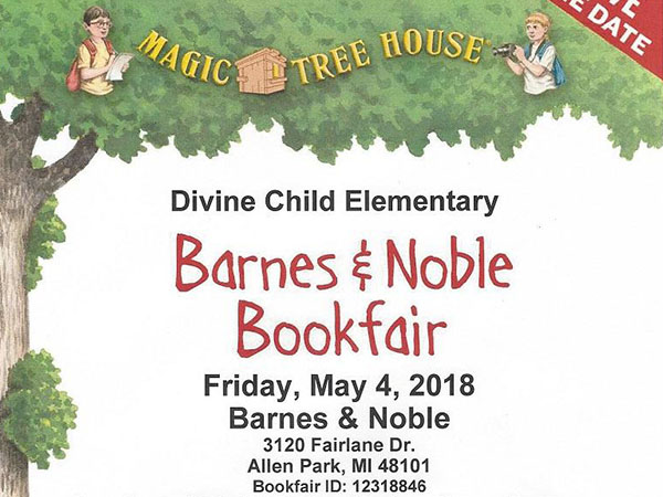 Bookfair - May 4, 2018